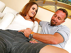 Hot milf gets drunk then takes a long dong in her sweet pussy in these amazing vids