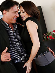 Office Babe, Chanel Preston gets naughty with a client and fucks on her desk.