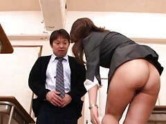 Kokomi Sakura wants to please the principal so she strips