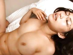 Kirara Kurokawa lets a lucky student fuck her tight wet pussy